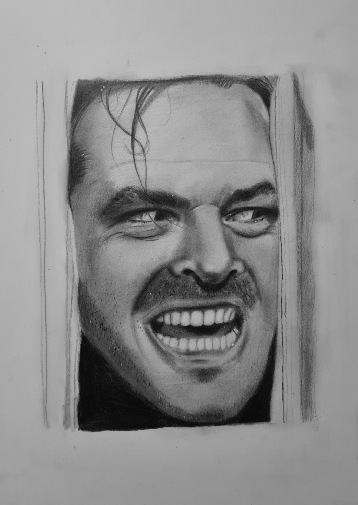 Jack Nicholson by thomascdraw